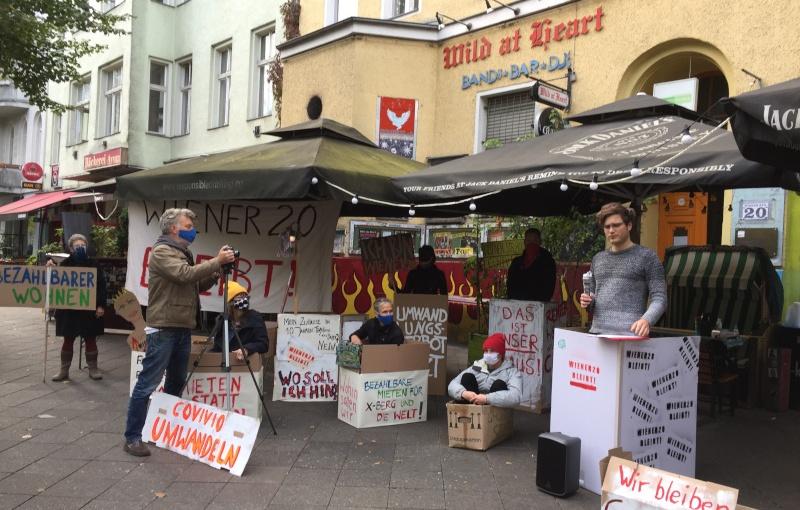 Mietkampf in der WienerStraße