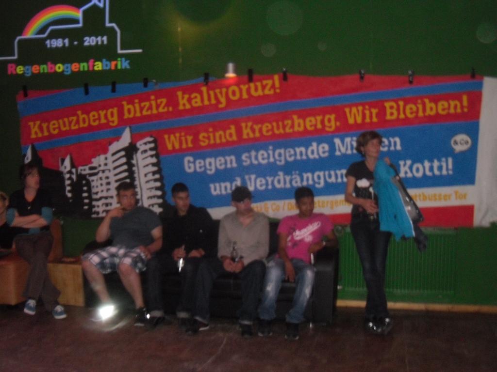 August 201 - Kotti Soli Party in der Regenbogenfabrik
