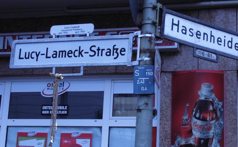 Lucy Lameck Straße