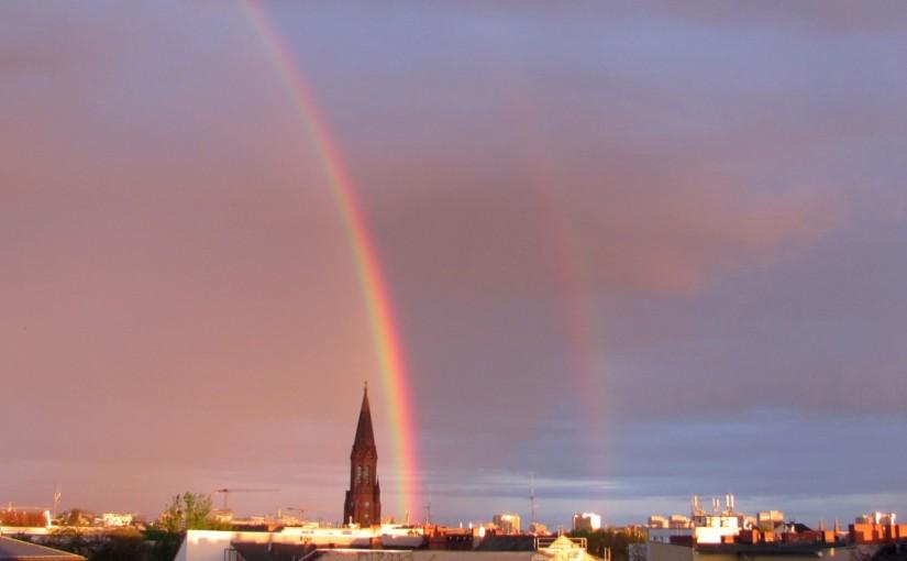 Regenbogen über Emmaus