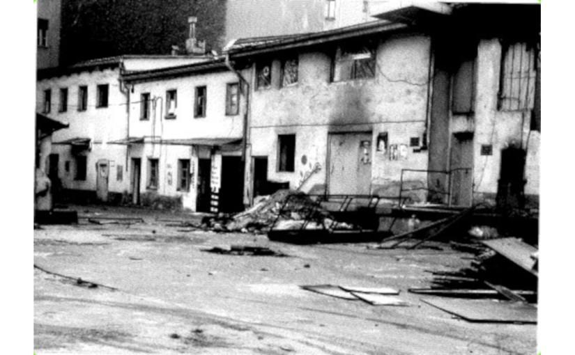 1981 | Brandanschlag auf die Regenbogenfabrik