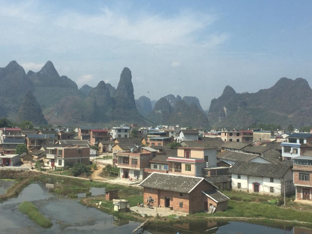 Limestone mountains - China